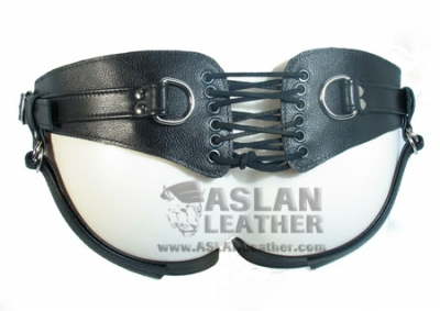 Minx Upgrade Licorice Jaguar strap on ASLAN Leather