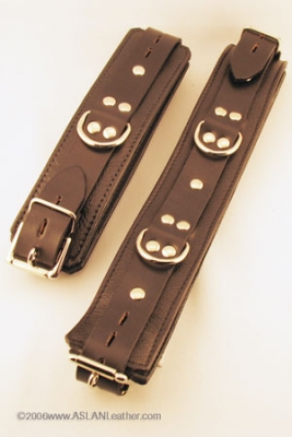 Jaguar Cuffs Set bondage byASLAN Leather