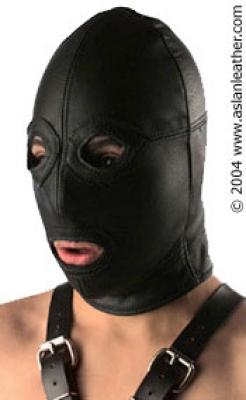 Full Face Hood bondage by ASLAN Leather