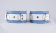 Crystal Blue Ankle Cuffs