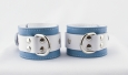 Crystal Blue cuffs